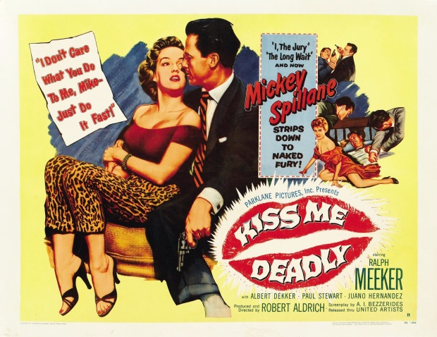 KISS ME DEADLY - American Poster 7