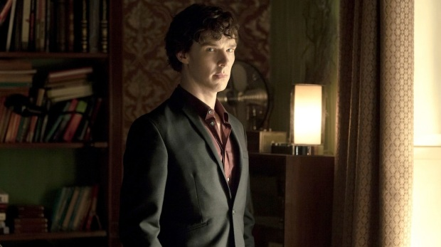 Sherlock TV Series (BBC 2010) starring Benedict Cumberbatch, Martin Freeman, Una Stubbs, Rupert Graves, Louise Brealey, Amanda Abbington and Mark Gatiss - dvdbash.com
